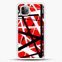 Load image into Gallery viewer, Frankenstein Pattern iPhone 11 Pro Max Case, White Rubber Case | JoeYellow.com