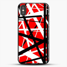 Load image into Gallery viewer, Frankenstein Pattern iPhone X Case, Black Plastic Case | JoeYellow.com