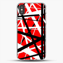 Load image into Gallery viewer, Frankenstein Pattern iPhone X Case, White Plastic Case | JoeYellow.com