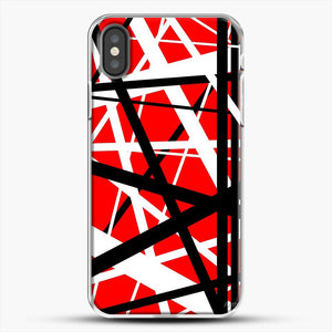 Frankenstein Pattern iPhone X Case, White Plastic Case | JoeYellow.com