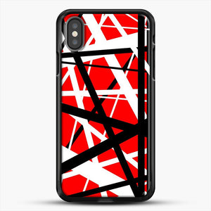 Frankenstein Pattern iPhone X Case, Black Rubber Case | JoeYellow.com