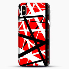 Load image into Gallery viewer, Frankenstein Pattern iPhone X Case, Black Snap 3D Case | JoeYellow.com