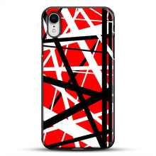 Load image into Gallery viewer, Frankenstein Pattern iPhone XR Case, Black Plastic Case | JoeYellow.com