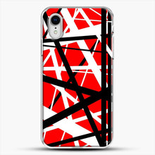 Load image into Gallery viewer, Frankenstein Pattern iPhone XR Case, White Plastic Case | JoeYellow.com