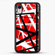 Load image into Gallery viewer, Frankenstein Pattern iPhone XR Case, Black Rubber Case | JoeYellow.com