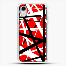 Load image into Gallery viewer, Frankenstein Pattern iPhone XR Case, White Rubber Case | JoeYellow.com