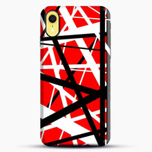 Load image into Gallery viewer, Frankenstein Pattern iPhone XR Case, Black Snap 3D Case | JoeYellow.com