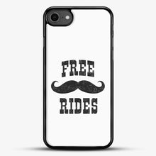 Load image into Gallery viewer, Free Mustache Rides Black iPhone 7 Case