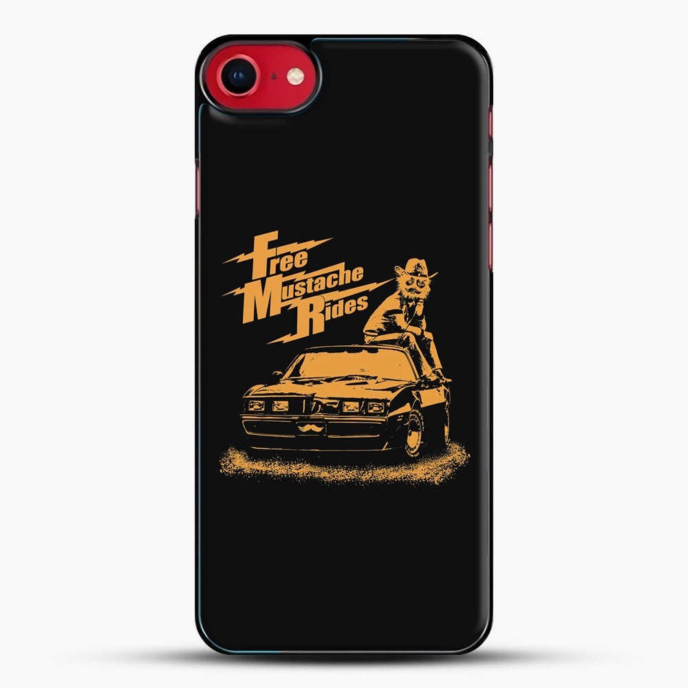 Free Mustache Rides iPhone 7 Case