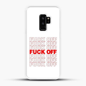 Fuck Off Grocery Samsung Galaxy S9 Plus Case
