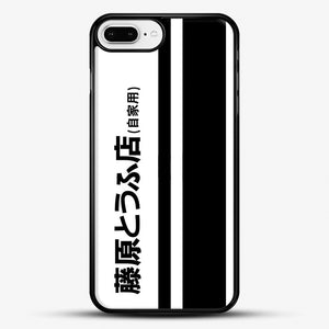 Fujiwara Tofu iPhone 7 Plus Case, Black Rubber Case | JoeYellow.com
