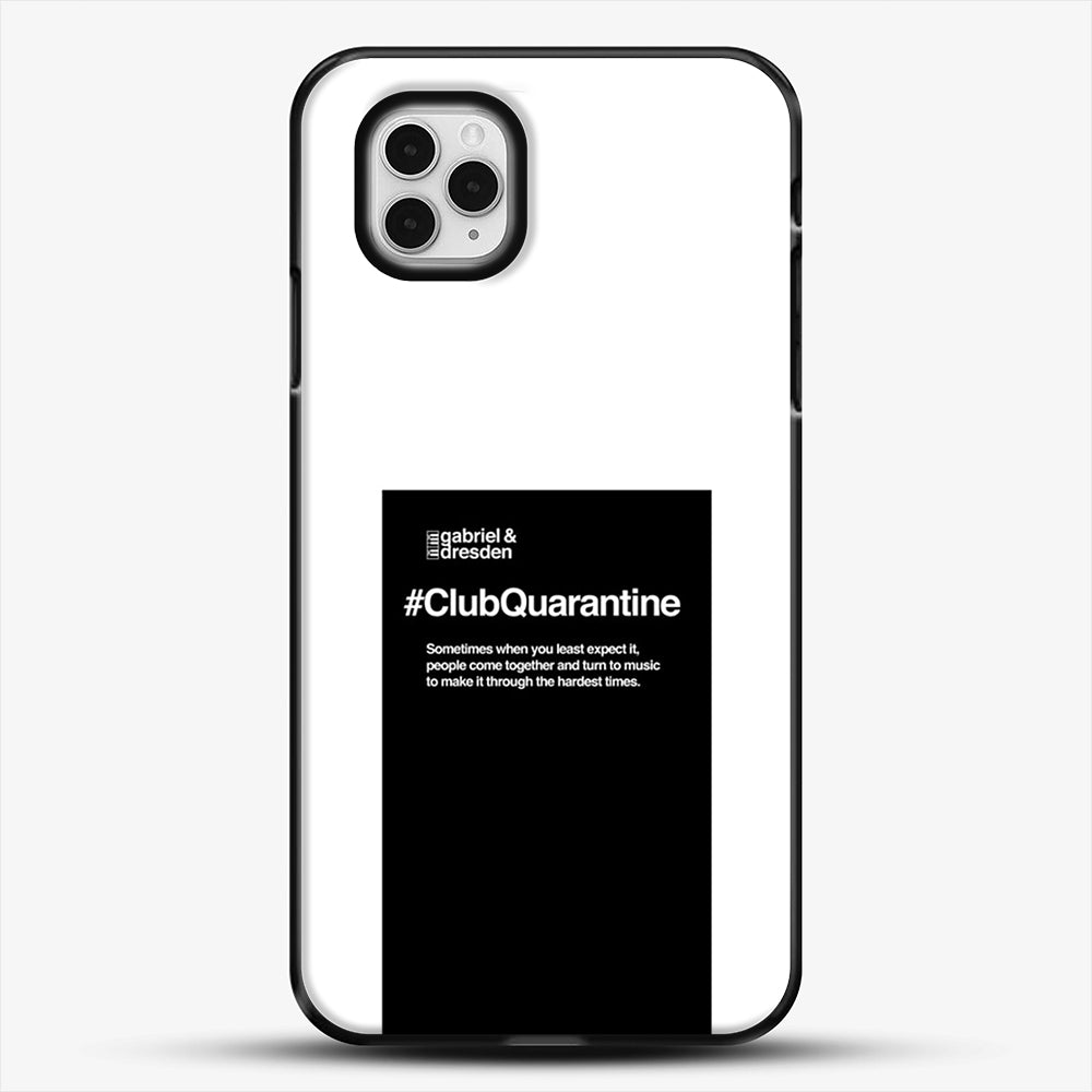 Gabriel And Dresden Club Quarantine Merch Is Here iPhone 11 Pro Case, Black Plastic Case | JoeYellow.com