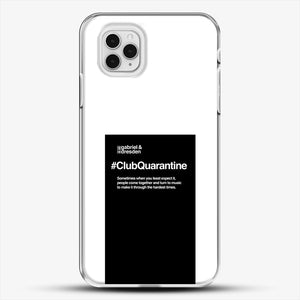 Gabriel And Dresden Club Quarantine Merch Is Here iPhone 11 Pro Case, White Plastic Case | JoeYellow.com