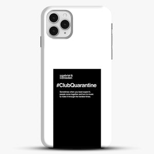 Gabriel And Dresden Club Quarantine Merch Is Here iPhone 11 Pro Case, Black Snap 3D Case | JoeYellow.com