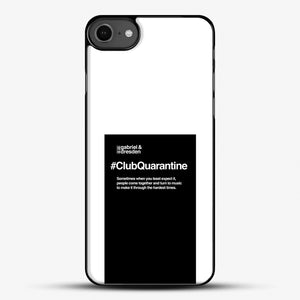 Gabriel And Dresden Club Quarantine Merch Is Here iPhone 7 Case, Black Plastic Case | JoeYellow.com