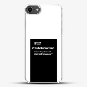Gabriel And Dresden Club Quarantine Merch Is Here iPhone 7 Case, White Plastic Case | JoeYellow.com