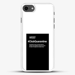 Gabriel And Dresden Club Quarantine Merch Is Here iPhone 7 Case, White Rubber Case | JoeYellow.com
