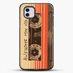 Galactic Soundtrack iPhone 11 Case, Black Plastic Case | JoeYellow.com