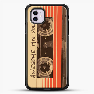 Galactic Soundtrack iPhone 11 Case, Black Rubber Case | JoeYellow.com