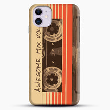 Load image into Gallery viewer, Galactic Soundtrack iPhone 11 Case, Black Snap 3D Case | JoeYellow.com