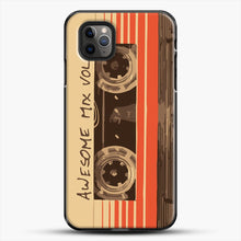 Load image into Gallery viewer, Galactic Soundtrack iPhone 11 Pro Max Case, Black Plastic Case | JoeYellow.com