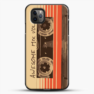 Galactic Soundtrack iPhone 11 Pro Max Case, Black Plastic Case | JoeYellow.com
