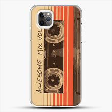 Load image into Gallery viewer, Galactic Soundtrack iPhone 11 Pro Max Case, White Plastic Case | JoeYellow.com