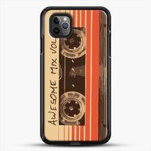 Load image into Gallery viewer, Galactic Soundtrack iPhone 11 Pro Max Case, Black Rubber Case | JoeYellow.com
