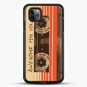 Galactic Soundtrack iPhone 11 Pro Max Case, Black Rubber Case | JoeYellow.com