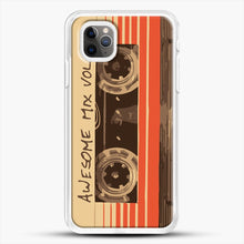 Load image into Gallery viewer, Galactic Soundtrack iPhone 11 Pro Max Case, White Rubber Case | JoeYellow.com