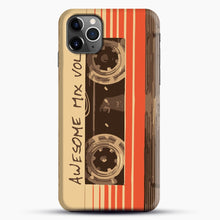 Load image into Gallery viewer, Galactic Soundtrack iPhone 11 Pro Max Case, Black Snap 3D Case | JoeYellow.com