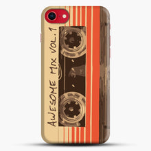 Load image into Gallery viewer, Galactic Soundtrack iPhone 7 Case, Black Snap 3D Case | JoeYellow.com