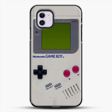 Load image into Gallery viewer, Gameboy iPhone 11 Case, Black Plastic Case | JoeYellow.com