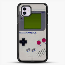 Load image into Gallery viewer, Gameboy iPhone 11 Case, Black Rubber Case | JoeYellow.com