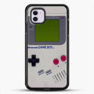 Gameboy iPhone 11 Case, Black Rubber Case | JoeYellow.com