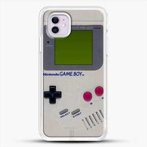 Gameboy iPhone 11 Case, White Rubber Case | JoeYellow.com