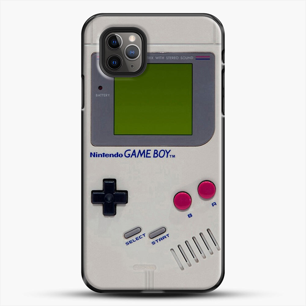 Gameboy iPhone 11 Pro Max Case, Black Plastic Case | JoeYellow.com