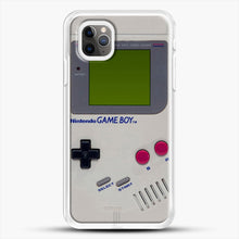 Load image into Gallery viewer, Gameboy iPhone 11 Pro Max Case, White Rubber Case | JoeYellow.com