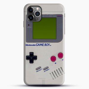 Gameboy iPhone 11 Pro Max Case, Black Snap 3D Case | JoeYellow.com