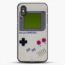 Load image into Gallery viewer, Gameboy iPhone XS Case, Black Plastic Case | JoeYellow.com