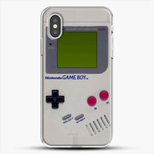 Load image into Gallery viewer, Gameboy iPhone XS Case, White Plastic Case | JoeYellow.com