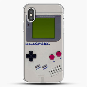 Gameboy iPhone XS Case, White Plastic Case | JoeYellow.com