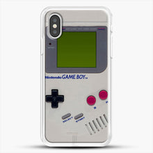 Load image into Gallery viewer, Gameboy iPhone XS Case, White Rubber Case | JoeYellow.com