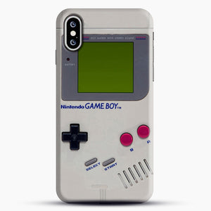 Gameboy iPhone XS Case, Black Snap 3D Case | JoeYellow.com