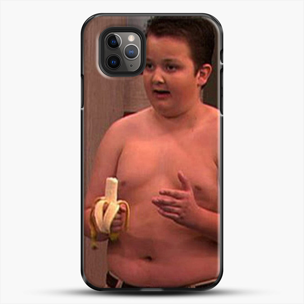 Gibby From Icarly iPhone 11 Pro Max Case, Black Plastic Case | JoeYellow.com