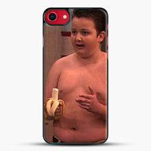 Load image into Gallery viewer, Gibby From Icarly iPhone 8 Case, Black Plastic Case | JoeYellow.com