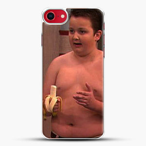 Gibby From Icarly iPhone 8 Case, White Plastic Case | JoeYellow.com