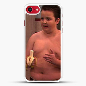 Gibby From Icarly iPhone 8 Case, White Rubber Case | JoeYellow.com