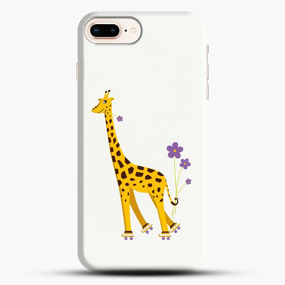 Giraffe Roller Skating iPhone 7 Plus Case