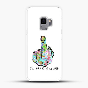 Go Fuck Yourself Middle Finger Samsung Galaxy S9 Case